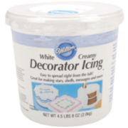 Wilton® Decorator Icing, Creamy White