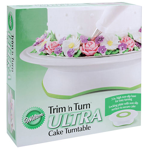 "Wilton® Trim 'N Turn Ultra 12"" Round Cake Turntable"