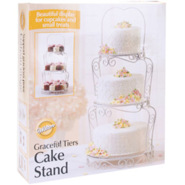 jcpenney.com | Wilton® Graceful Tiers Cake Stand