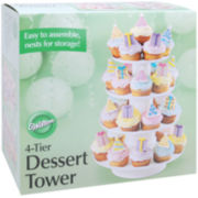 Four-Tier Dessert Tower