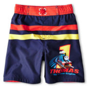 Thomas the Tank Engine Swim Trunks - Boys 12m-6y