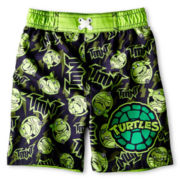 Teenage Mutant Ninja Turtles Swim Trunks - Boys 12m-6y
