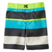 Arizona Striped Swim Trunks - Boys 6-18
