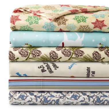 jcpenney.com | Micro Flannel® Print Sheet Set