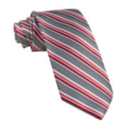 Stafford® Sharp Stripe Silk Tie