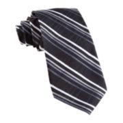 Stafford® Oduya Grid Silk Tie
