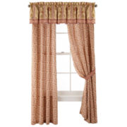 jcp home™ Ceylon Tea Curtain Panel Pair