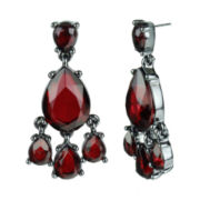 Mixit™ Red Chandelier Earrings