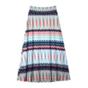 by&by Girl Chevron Maxi Skirt - Girls 7-16