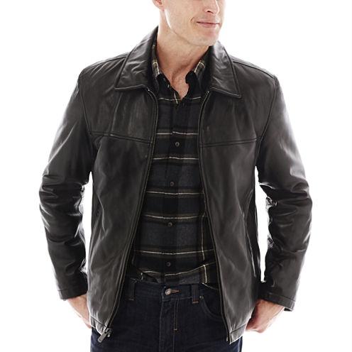 Dockers® Lamb Leather Classic Jacket