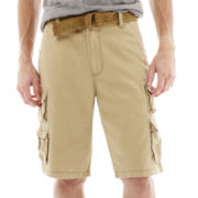 Plugg® Plaino Twill Cargo Shorts
