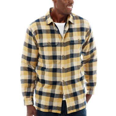 jcpenney.com | Stanley® Cotton Flannel Button-Front Shirt