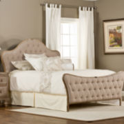 Pamela Tufted Upholstered Bed