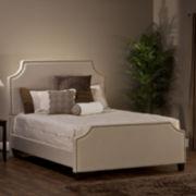 Raelynn Upholstered Nailhead Trim Bed