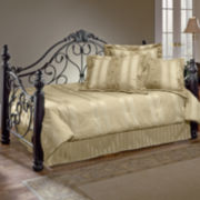 Rosalie Metal Scroll Daybed with Trundle Option