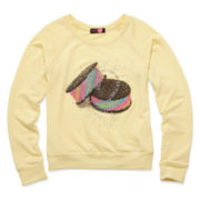 Ransom Girl™ Long-Sleeve Sweets French Terry Pullover – Girls 7-16