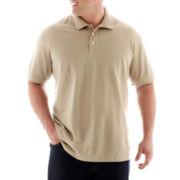 The Foundry Supply Co.™ Solid Piqué Polo–Big & Tall