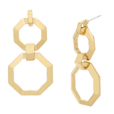jcpenney.com | Worthington Geometric Double Drop Earring