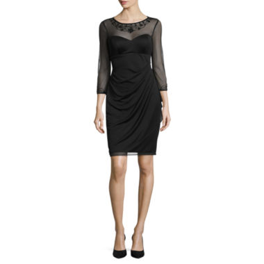 jcpenney.com | DJ Jaz 3/4 Sleeve Embellished Sheath Dress