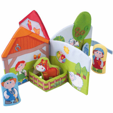 jcpenney.com | Haba Farm Friends Fabric Play Book