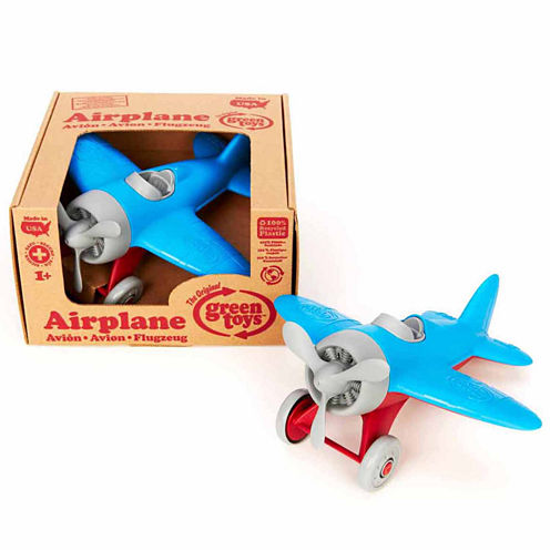 Green Toys Airplane Blue Dress Up Accessory