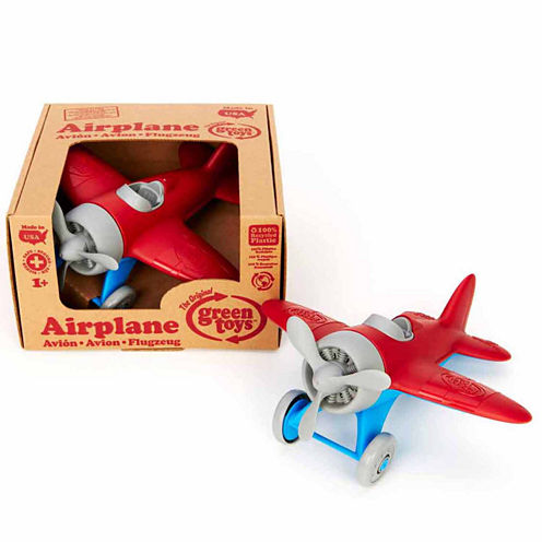 Green Toys Airplane Red Dress Up Accessory