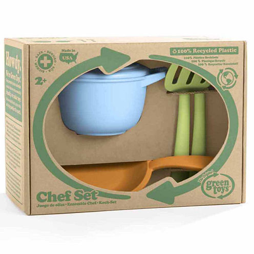 Green Toys Chef Set Dress Up Accessory
