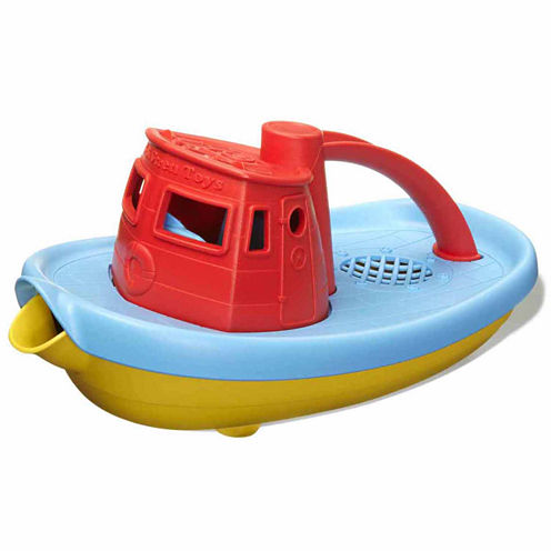 Green Toys Tug Boat Red  Accessory