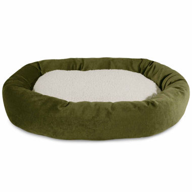 jcpenney.com | Majestic Pet Villa Collection Sherpa Bagel Dog Bed