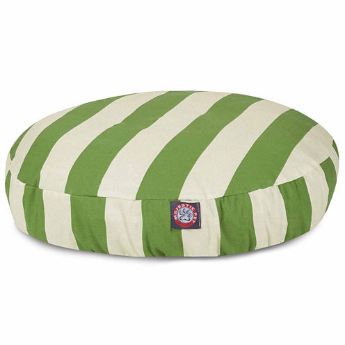Majestic Pet Vertical Stripe Small Round Bed
