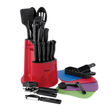 jcpenney.com | Cooks 34-pc. Spin and Store Caddy Knife Set