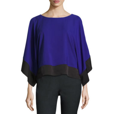 jcpenney.com | Worthington Short Sleeve Scoop Neck Woven Blouse