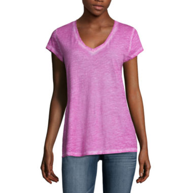 jcpenney.com | a.n.a. V Neck Tee