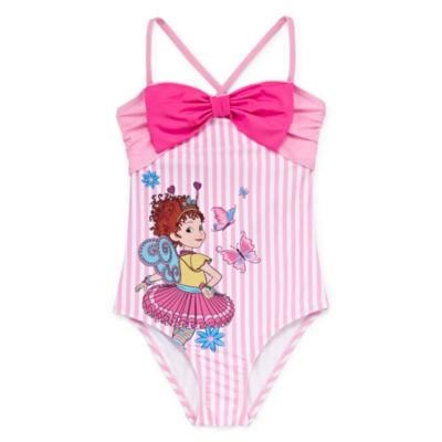 09df6f02f8 Disney Fancy Nancy One Piece Swimsuit Girls - JCPenney