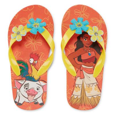 1ae6b32d5e8 Disney Moana Flip-Flops - JCPenney