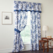 Toile Garden Window Treatments