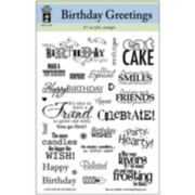 Fiskars Quote Clear Scrapbook Stamps