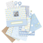 Postbound Baby Boy Little House Scrapbook Kit