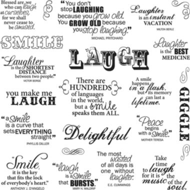 jcpenney.com | Fiskars Laugh With Me Clear Stamps Sheets