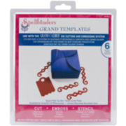 Spellbinders™ Grand Calibur® Dies, 6-pc. Square Petal Top Box Set