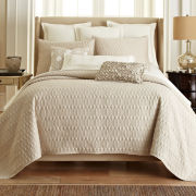 Royal Velvet® Crestmore 3-pc. Coverlet Set and Accessories