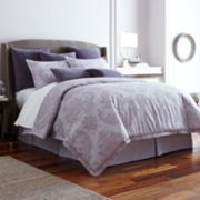 Royal Velvet® 4-pc. Crescent Comforter Set
