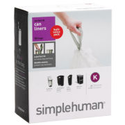 simplehuman® Code K Trash Can Liners