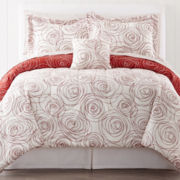 Scribble 7-pc. Complete Bedding Set with Sheets Collection