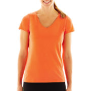 Xersion™ Stretch V-Neck Tee