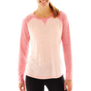 Xersion™ Long-Sleeve Baseball Tee