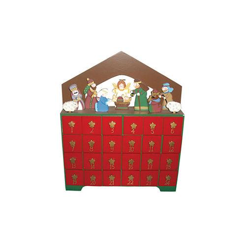 "12.5"" Nativity Advent Calendar"
