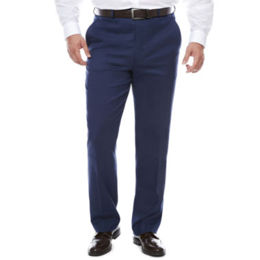 jcpenney.com | Stafford Flat Front Pants-Big and Tall