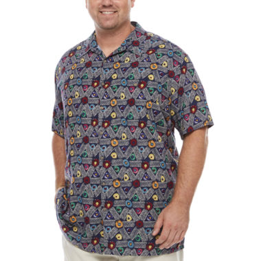 jcpenney.com | The Foundry Big & Tall Supply Co. Button-Front Shirt-Big and Tall