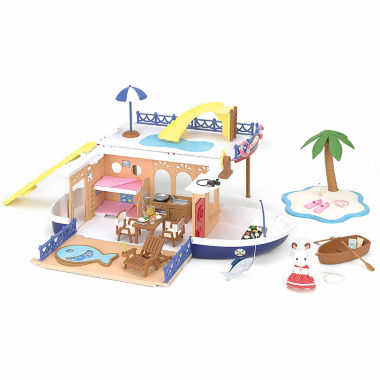 jcpenney.com | Calico Critters Seaside Cruiser Houseboat